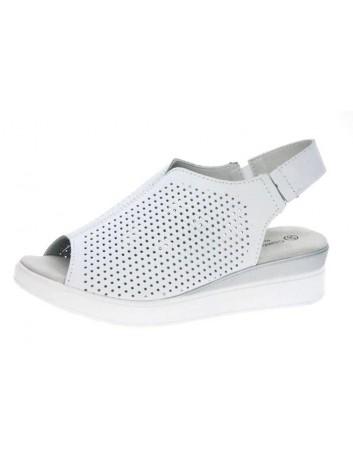 Skórzany sandał T.Sokolski OC L20-06,Kolor biały