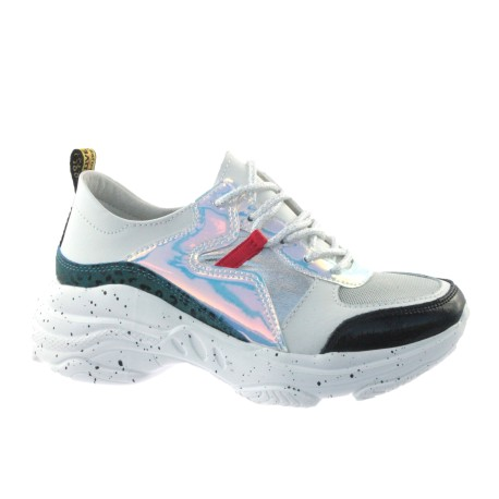 Sportowe Sneakersy skórzany T.Sokolski FLY W20-05 ,Kolor biały