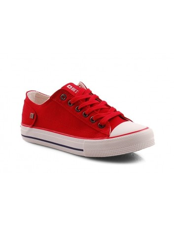 Trampki damskie BIG STAR DD274339SS20,Kolor czerwony