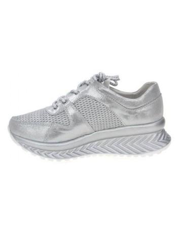 Sportowe Sneakersy damkie T.Sokolski GS W20-04 ,Kolor srebrny