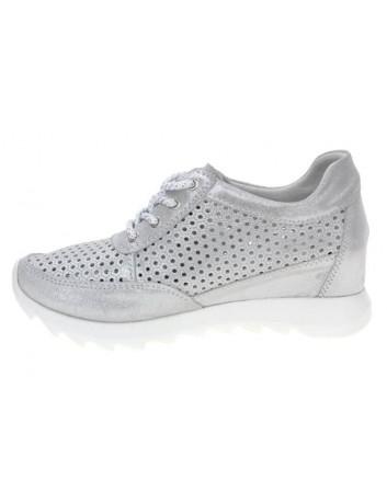 Sneakersy skórzane damskie T.Sokolski GS W20-07 srebrny