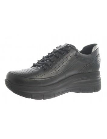 Skórzany sneakers damski T.SOKOLSKI MAM D21YA-315 czarny