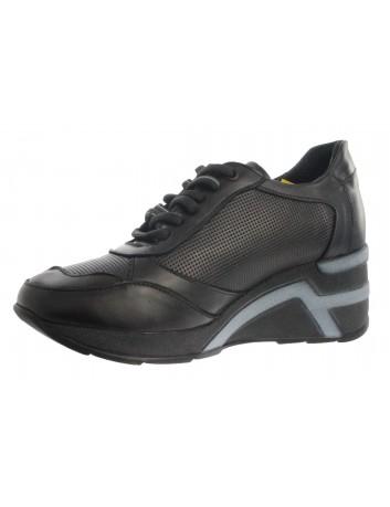 Skórzany sneakers damski...