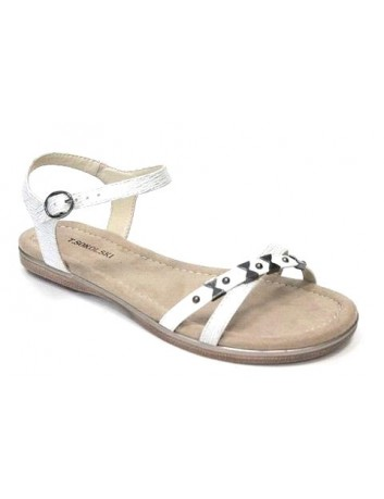 Sandał damski, Kolor biały