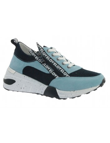 Sportowe sneakersy skórzane T.Sokolski OC W21-92 nienieski