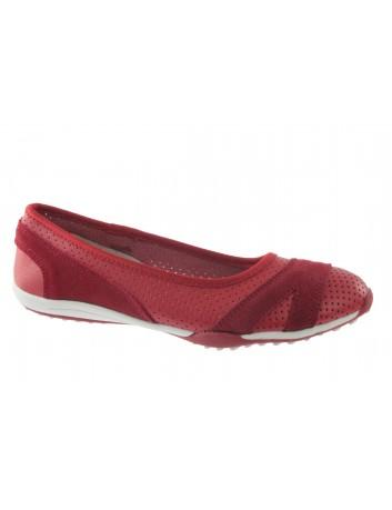 Skórzana balerina T.Sokolski OC W21-69 czerwony