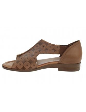 Sandały skórzane damskie T.SOKOLSKI LP 95-603 brązowy