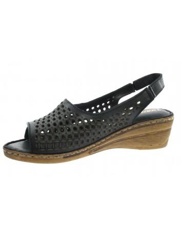 Sandały skórzane damskie T.Sokolski BK L21-340 czarny