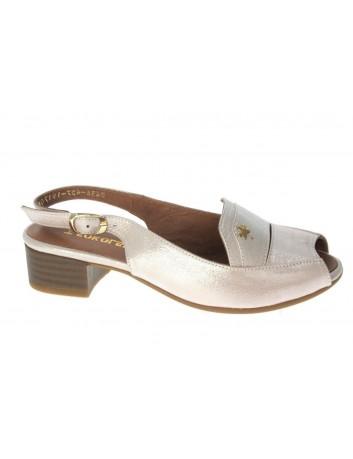 Sandały skórzane damskie T.Sokolski LP 0436-427-617 różowy