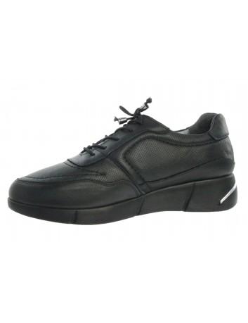 Skórzany sneakers damski T.Sokolski ARA 104 czarny