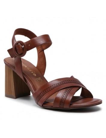 Sandał damski Tamaris 1-28305-26 brązowy
