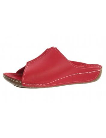 Komfortowy klapek damski T.Sokolski WH 1002 czerwony