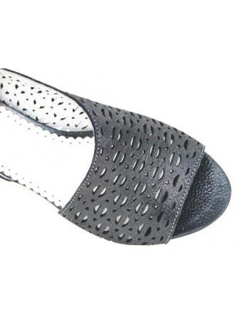 Sandał skórzany damski ARA 037 czarny