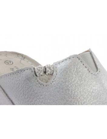 Skórzany klapek T.Sokolski FC L21-406 srebrny
