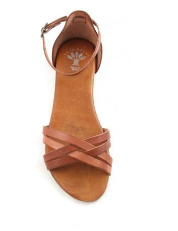 Skórzany sandał damski Porronet