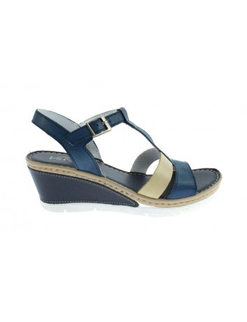 Skórzany sandał damski Gaia Verdi